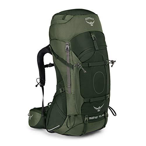 Osprey Herren Aether Ag 70 Backpacking Pack, Adirondack Green, Large